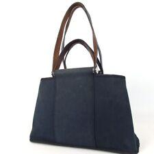 Authentic HERMES Kabak Elan PM Square M Engraved Shoulder Tote Bag Towar Off...