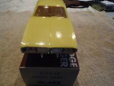 1973 DODGE CHARGER.PROMO N/MINT W/BOX -MOPAR ULTIMATE RARE LEMON TWIST