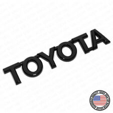For Toyota Gloss Black Letter Trunk Lid Liftgate Tailgate Emblem Badge Logo