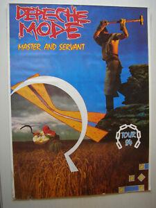Depeche Mode 1984er Tourplakat in der Größe 80x60 - leider mit Stockflecken