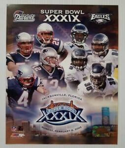 New England Patriots Philadelphia Eagles Super Bowl XXXIX 39 8x10 Photo File NFL