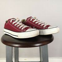 Women's Converse Chuck Taylor All Star Low tops Burgundy / red Size UK 5