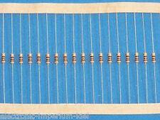 100 Carbon Film Resistors 1,5 kOhm / 0,25 w/ 5%