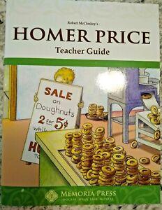 Homer Price Literature Teacher Guide by Memoria Press-- ON SALE!