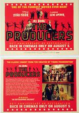MEL BROOKS THE PRODUCERS 5Oth ANNIV FILM POSTCARDS  GENE WILDER ZERO MOSTEL