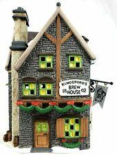 Dept 56 Dickens Village Series Kingsford's Brew House Pub Tavern 58114 - New