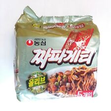 Nong Shim Chapagetti Ramyun 140g 5Pcs Noodle Korean Instant Food