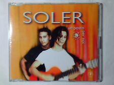 SOLER Un posto per noi cd singolo PR0M0