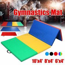 6''-10''x4'' Gymnastics Folding  Thick Exercise Gym Fitness Yoga Workout