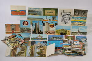 Vintage Job Lot Bundle of Postcards Holiday Buildings & More Mystery Collection
