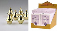 Brass Cone Burner, Free Packet of Lavender Or Sandalwood Cone Incense Included