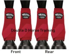WEAVER PRODIGY PERFORMANCE ATHLETIC HORSE SPORT BOOTS Value 4 PACK RED M