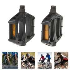 Universal Bicycle Pedals Reflective Plastic Cycling Anti Slip Mountain Road Bike