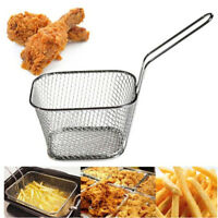 fry basket strainer french fries basket home essential kitchen cooking tool JR
