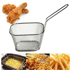 fry basket strainer french fries basket home essential kitchen cooking tool rs