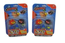 Lot of 2 Spinbotz - Dual Stunt Series   BRAND NEW Kids Toy Boredom Buster
