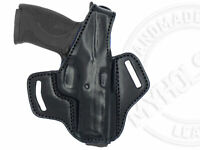 OWB Thumb Break Right Hand Leather Belt Holster Fits Smith & Wesson M&P .45