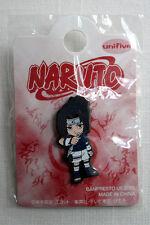 Naruto Chibi SASUKE UCHIHA w/ Kunai Pin Badge Accessory Official MINT