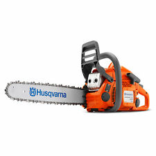 "Husqvarna 435 E Series 16"" 2.2HP Smart Start 40.9cc 2 Cycle Gas Powered Chainsaw"