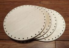 Basket Bottoms 4 inch Circles for Pine Needle baskets and more 4 pack!