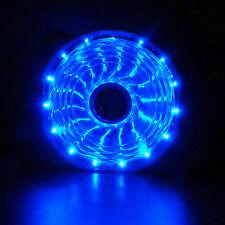 Blue 120mm 15 LED Neon Light Quite DC 12V PC Computer Case Cooling Cool Fan Mod
