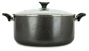 Aluminium Large Stock Pot Pan Brew Boiling Stew Soup Cooking Casserole With Lid
