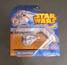 Rebel Snowspeeder Flight Navigator 2014 STAR WARS Hot Wheels Die Cast MOC