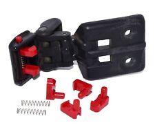 DELRIN Geo Tracker/Suzuki Sidekick soft top roof latch clip kit (with springs)