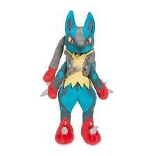 """pokemon center  Mega Lucario Poké Plush (Large Size) - 11"""""""