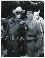 LONE RANGER TV CAST - AUTOGRAPHED SIGNED PHOTOGRAPH WITH CO-SIGNERS