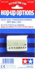 Tamiya 53124 (OP124) 3mm Tungsten-Carbide Diff Ball Set