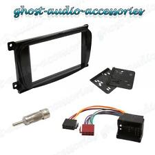 Ford Galaxy Black Double DIN Radio Stereo Facia Fascia Adaptor Plate Fitting Kit