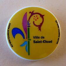 Fève pub perso Ville de Saint Cloud - 2013 - Fève Gagnante