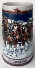 1989 Collector's Series Budweiser Special Edition Holiday Beer Mug