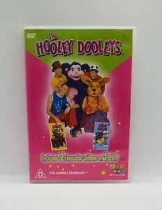 The HOOLEY DOOLEYS 2 in 1 DVD (2003) VGC R4 DVD RARE Ready Set Go ABC FOR KIDS