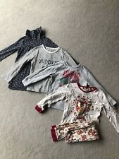 Bundle of Girls Clothes Tops And Pyjamas Age 4-5 years  Next TU Dreamworks