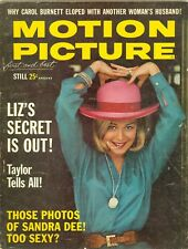 Sandra Dee cover 1963 Motion Picture magazine hayley mills connie stevens