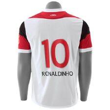 Flamengo Ronaldinho Jersey Olympikus #10 Ronaldinho away white shirt rare