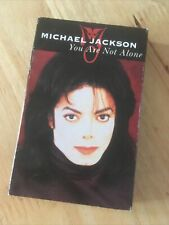 Michael Jackson-You Are Not Alone🌟🌟🌟🌟🌟Cassette Single+scream Louder (Janet)