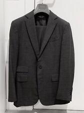 Ralph Lauren Purple Label Suit Charcoal Plaid 36R 46R