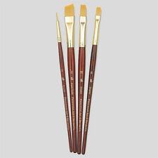 Princeton Art Brushes 4 Set Synthetic Hair Watercolour Acrylic Oil Painting 9123