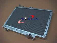 Aluminum Radiator FOR MAZDA FAMILIA GTX 323 PROTEGE LX 1.8L BP 89-94 90 91 92