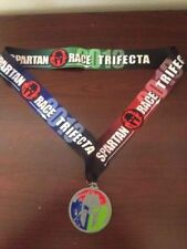 2013 Spartan Race Trifecta Finishers Medal - Sprint - Super - Beast - Mud Run