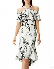 Stunning *Coast* (size 20 Uk) Elouise  Print Dress , Mono , New