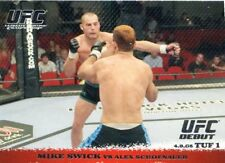 2009 TOPPS UFC ROUND 1 ROOKIE RC DEBUT MIKE SWICK #24 TUF 1