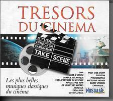 COFFRET 4 CD ALBUM BOF/OST--TRESORS DU CINEMA - MUSIQUES CLASSIQUES DU CINEMA