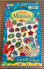 Disney's The Little Mermaid FUN WITH SICKERS Set From Roseart 1997