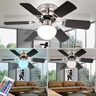 LED Ventilateur de plafond Lampe RGB télécommande vent intensité variable bureau