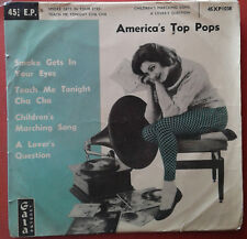 GALA.UK EP.America's top pops.Pop girl with Record player.A lover's question+3.