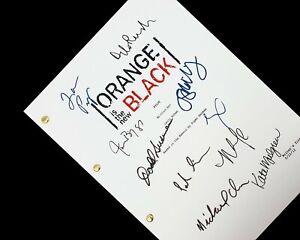 Orange is the New Black TV Script Pilot Signatures Autographs Reprint OITNB Fan